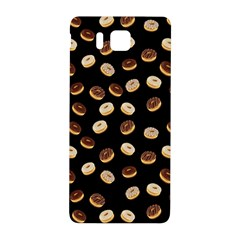 Donuts Pattern Samsung Galaxy Alpha Hardshell Back Case by Valentinaart