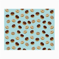 Donuts Pattern Small Glasses Cloth (2 Side) by Valentinaart