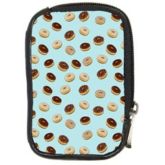 Donuts Pattern Compact Camera Cases by Valentinaart
