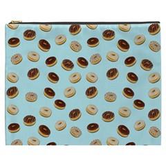 Donuts Pattern Cosmetic Bag (xxxl)  by Valentinaart
