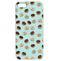 Donuts Pattern Apple Iphone 5 Hardshell Case With Stand by Valentinaart