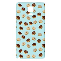 Donuts Pattern Galaxy Note 4 Back Case by Valentinaart