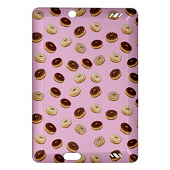 Donuts Pattern Amazon Kindle Fire Hd (2013) Hardshell Case by Valentinaart