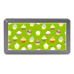 Cupcakes Pattern Memory Card Reader (mini) by Valentinaart