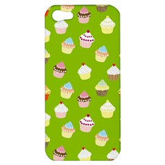 Cupcakes Pattern Apple Iphone 5 Hardshell Case by Valentinaart