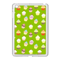 Cupcakes Pattern Apple Ipad Mini Case (white) by Valentinaart
