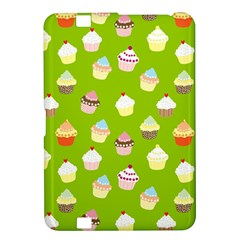 Cupcakes Pattern Kindle Fire Hd 8 9  by Valentinaart