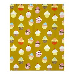 Cupcakes Pattern Shower Curtain 60  X 72  (medium)  by Valentinaart