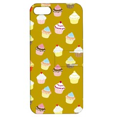 Cupcakes Pattern Apple Iphone 5 Hardshell Case With Stand by Valentinaart