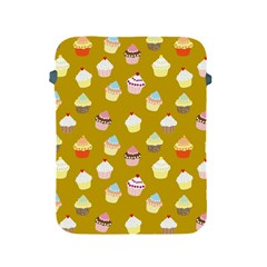 Cupcakes Pattern Apple Ipad 2/3/4 Protective Soft Cases by Valentinaart