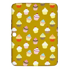 Cupcakes Pattern Samsung Galaxy Tab 3 (10 1 ) P5200 Hardshell Case  by Valentinaart