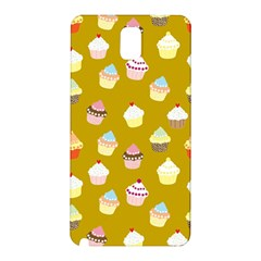 Cupcakes Pattern Samsung Galaxy Note 3 N9005 Hardshell Back Case by Valentinaart
