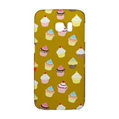 Cupcakes Pattern Galaxy S6 Edge by Valentinaart