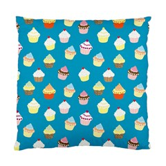 Cupcakes pattern Standard Cushion Case (One Side)