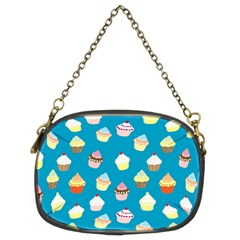 Cupcakes Pattern Chain Purses (two Sides)  by Valentinaart