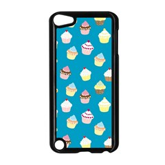 Cupcakes Pattern Apple Ipod Touch 5 Case (black) by Valentinaart