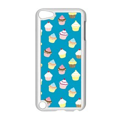 Cupcakes Pattern Apple Ipod Touch 5 Case (white) by Valentinaart