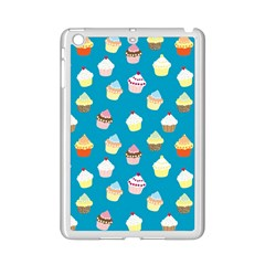Cupcakes Pattern Ipad Mini 2 Enamel Coated Cases by Valentinaart