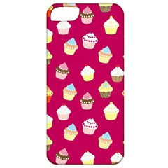 Cupcakes Pattern Apple Iphone 5 Classic Hardshell Case by Valentinaart