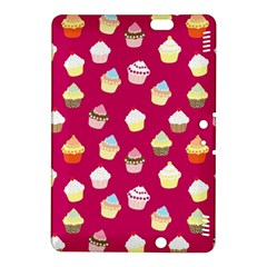 Cupcakes Pattern Kindle Fire Hdx 8 9  Hardshell Case by Valentinaart