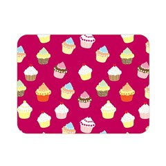 Cupcakes Pattern Double Sided Flano Blanket (mini)  by Valentinaart
