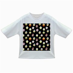 Cupcakes Pattern Infant/toddler T Shirts by Valentinaart