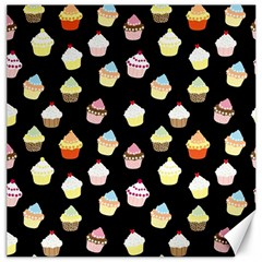 Cupcakes Pattern Canvas 16  X 16   by Valentinaart