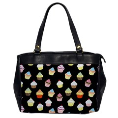 Cupcakes Pattern Office Handbags by Valentinaart