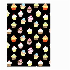 Cupcakes Pattern Small Garden Flag (two Sides) by Valentinaart