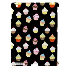 Cupcakes Pattern Apple Ipad 3/4 Hardshell Case (compatible With Smart Cover) by Valentinaart
