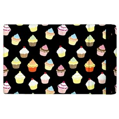 Cupcakes Pattern Apple Ipad 3/4 Flip Case by Valentinaart