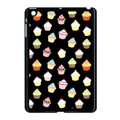 Cupcakes Pattern Apple Ipad Mini Case (black) by Valentinaart