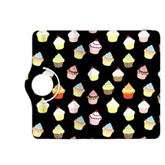 Cupcakes Pattern Kindle Fire Hdx 8 9  Flip 360 Case by Valentinaart