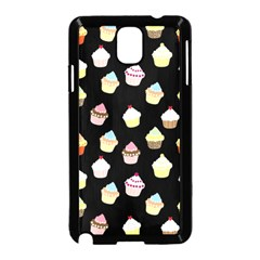 Cupcakes Pattern Samsung Galaxy Note 3 Neo Hardshell Case (black) by Valentinaart