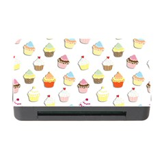 Cupcakes Pattern Memory Card Reader With Cf by Valentinaart