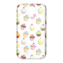 Cupcakes Pattern Samsung Galaxy S4 Classic Hardshell Case (pc+silicone) by Valentinaart