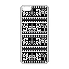Traditional Draperie Apple Iphone 5c Seamless Case (white) by Onesevenart