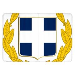 Greece National Emblem  Samsung Galaxy Tab 8 9  P7300 Flip Case by abbeyz71