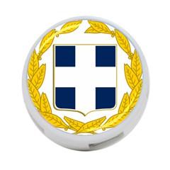 Greece National Emblem  4 Port Usb Hub (one Side) by abbeyz71