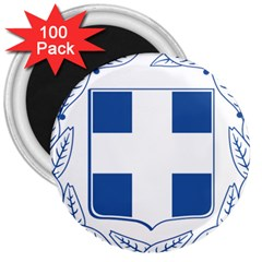 Greece National Emblem  3  Magnets (100 Pack) by abbeyz71