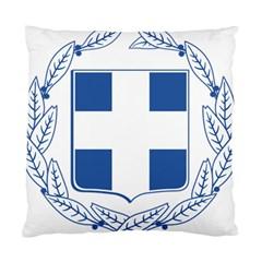 Greece National Emblem  Standard Cushion Case (two Sides) by abbeyz71