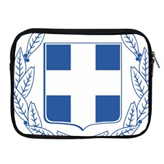 Greece National Emblem  Apple Ipad 2/3/4 Zipper Cases by abbeyz71