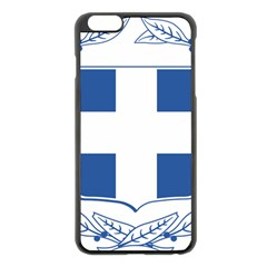 Greece National Emblem  Apple Iphone 6 Plus/6s Plus Black Enamel Case by abbeyz71