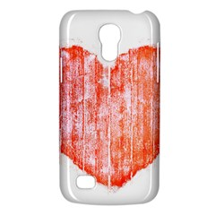 Pop Art Style Grunge Graphic Heart Galaxy S4 Mini by dflcprints