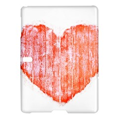 Pop Art Style Grunge Graphic Heart Samsung Galaxy Tab S (10 5 ) Hardshell Case  by dflcprints