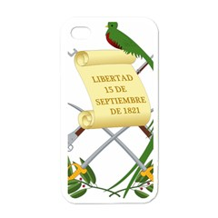 National Emblem Of Guatemala  Apple Iphone 4 Case (white) by abbeyz71