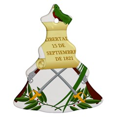 National Emblem Of Guatemala  Christmas Tree Ornament (two Sides) by abbeyz71