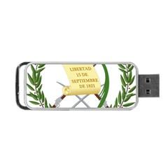 National Emblem Of Guatemala  Portable Usb Flash (two Sides) by abbeyz71