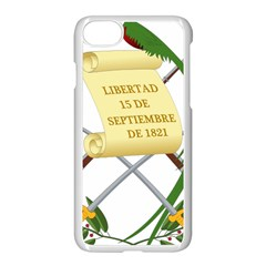 National Emblem Of Guatemala  Apple Iphone 7 Seamless Case (white) by abbeyz71