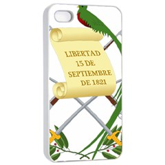 National Emblem Of Guatemala Apple Iphone 4/4s Seamless Case (white) by abbeyz71
